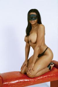 Black erotic massage